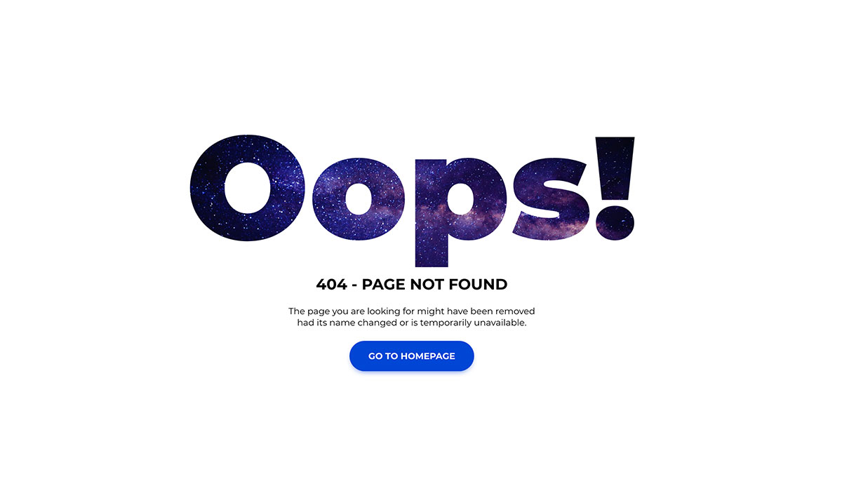 Missing Page